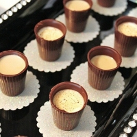 Shots de Chocolate
